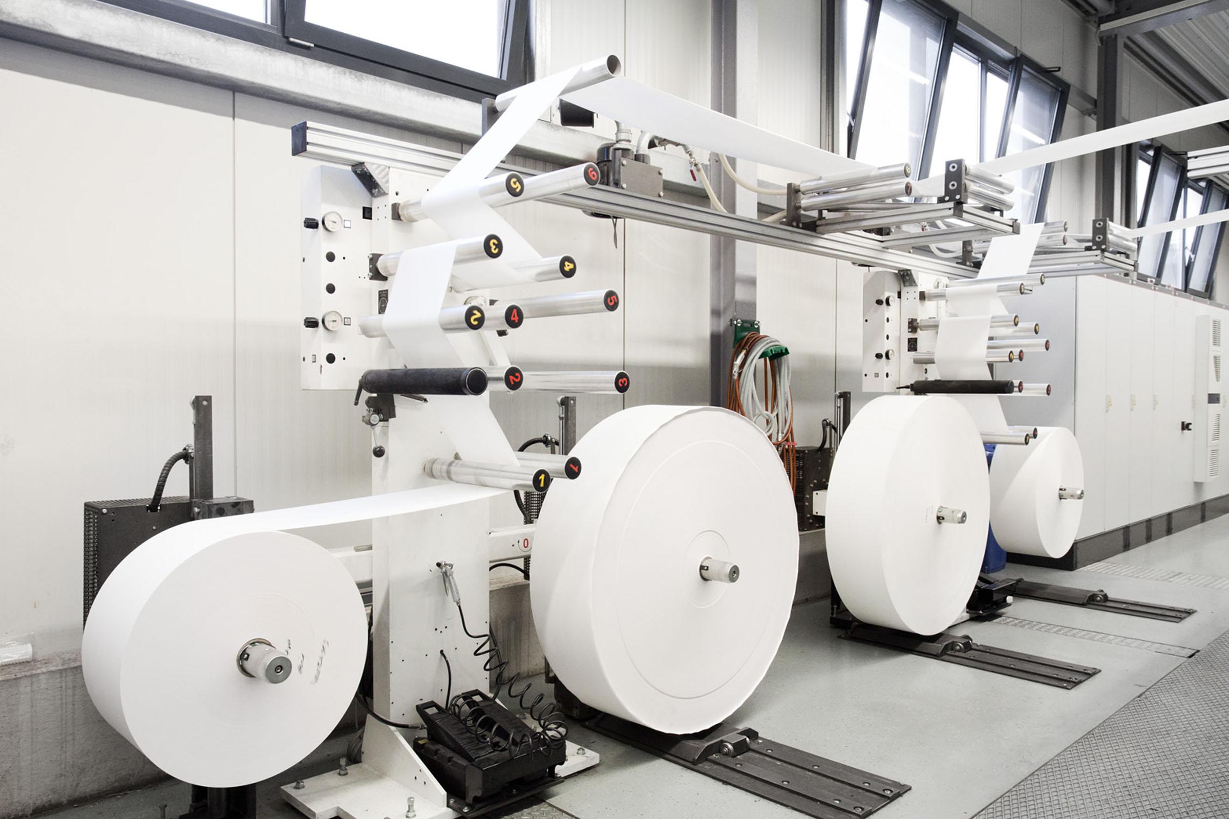 Papiersack-Produktion bei TENAX