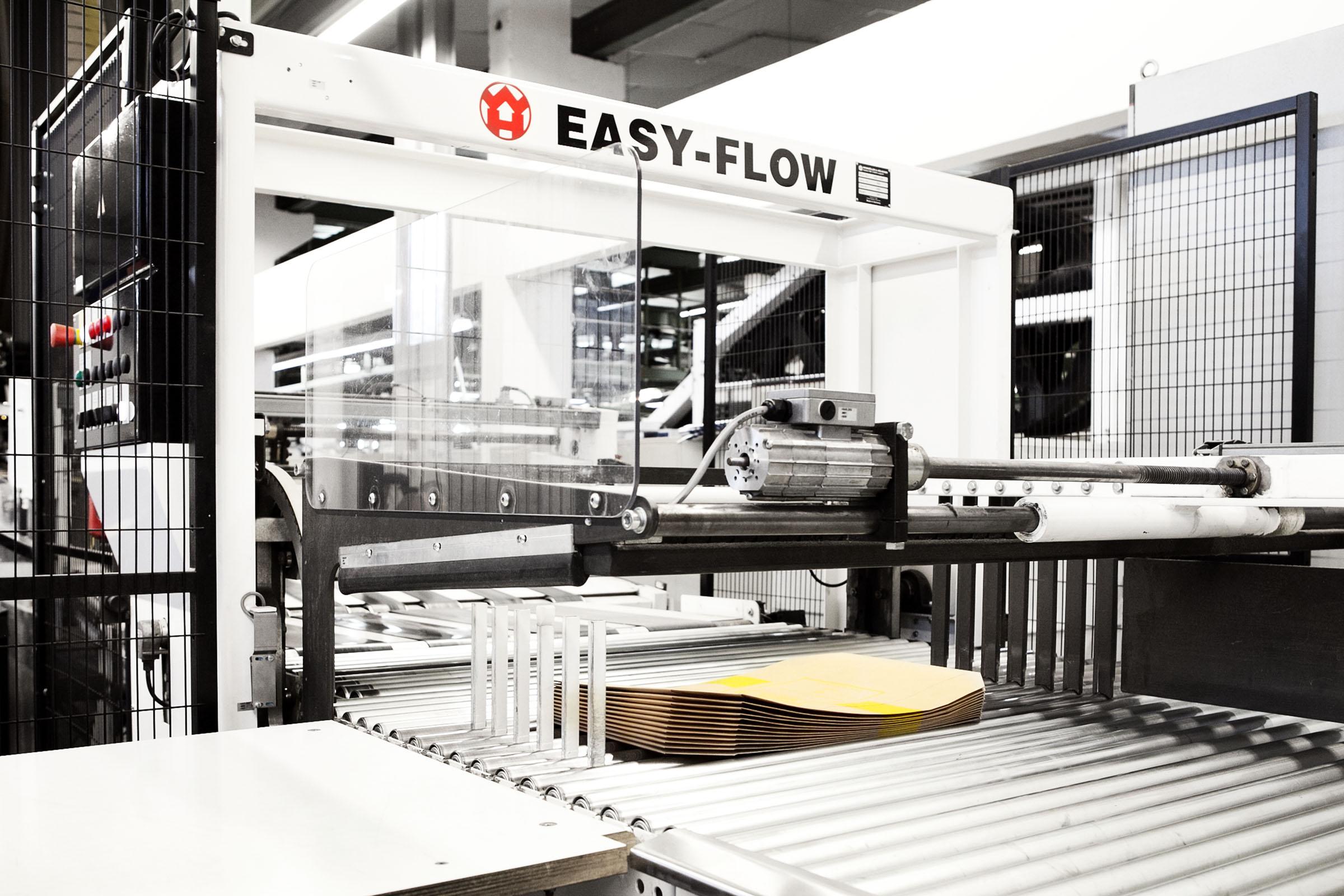 Endprodukt der Papiersack-Produktion bei TENAX