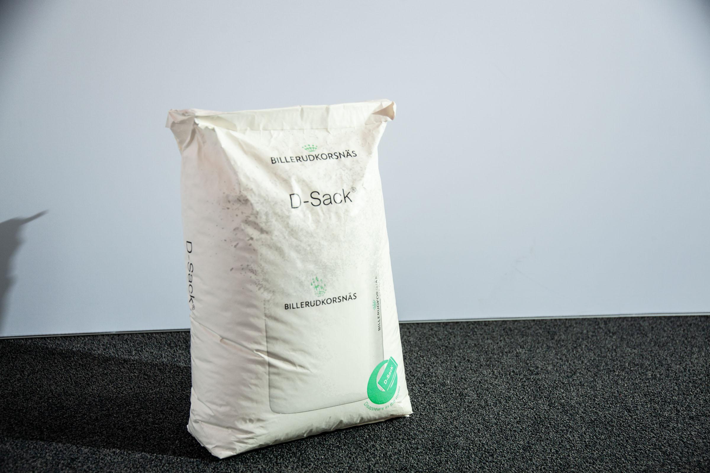 Selbstauflösender Sack im Design von BillerudKorsnäs